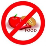 no food 150x150 Odd ways to lose weight