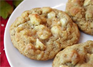 AppleWhiteChocChipCookies Low calorie desserts