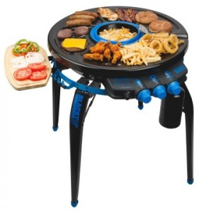 blacktop party hub1 281x300 Giveaways Galore   Blacktop 360 Party Hub Grill and Fryer