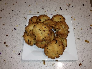 Healthy Almond and Choc Chip Cookies