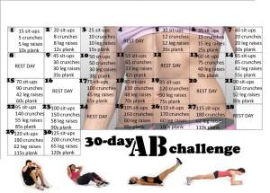 #30DayAbChallenge